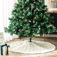 Guwheat Árbol de Navidad Faldas Adornos para el árbol Falda de ...