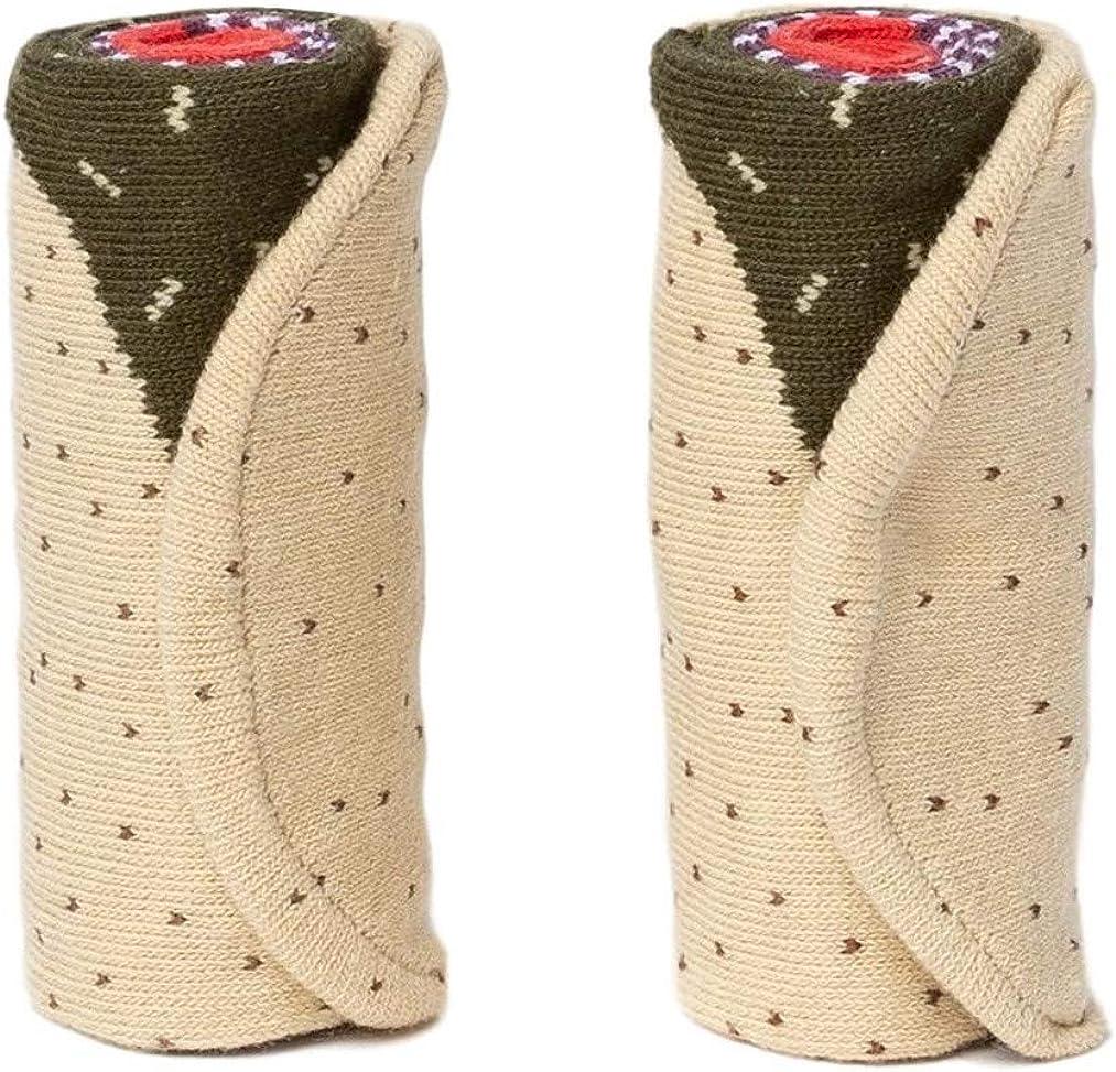 Burrito Taco Socks Food Funny Novelty Socks For Mens Boys Women Groomsmen Gift