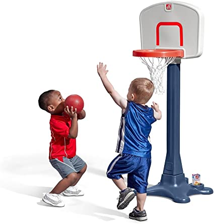 Amazon.com: Step2 Shootin' Hoops Junior Basketball Set: Toys & Games