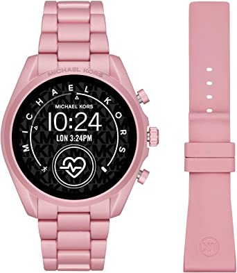 Smartwatch Michael Kors Bradshaw 2 Gen 5 Pink MKT5098: Amazon.es ...