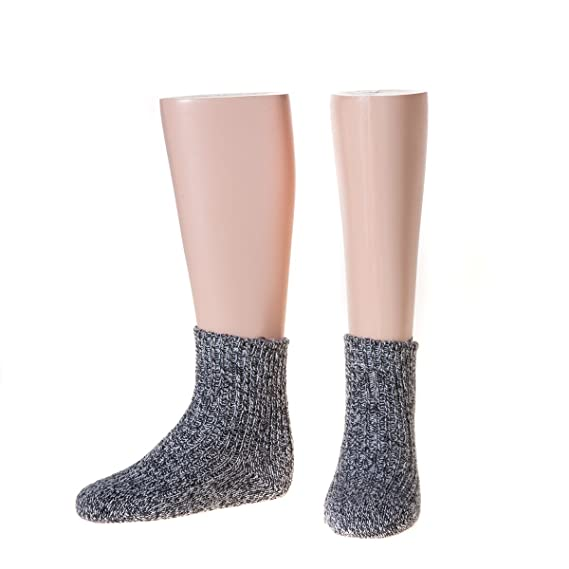 NORDPOL-Strümpfe - Calcetines - para bebé niño Heather Grey 18