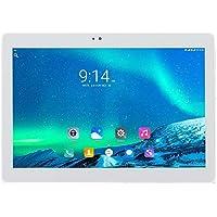 ibowin® 10.1Inch 1G RAM 16G ROM MediaTek Quad Core 3G Telefónicas Tablet PC 1280x800 IPS Resolución 3G WCDMA 2100MHz y 2G gsm WiFi GPS Bluetooth Dual-SIM Tarjeta - Plata
