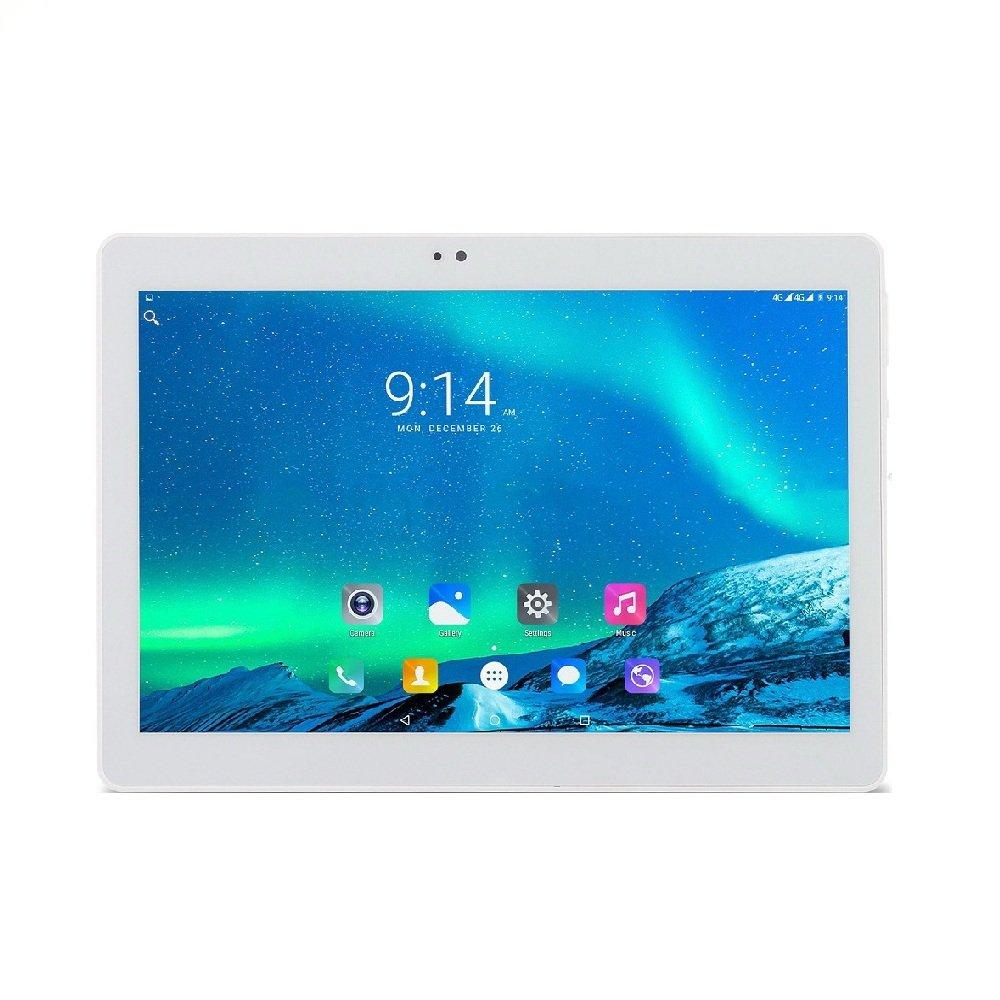 ibowin 10.1Inch 1G RAM 16G ROM MediaTek Quad Core 3G Telefónicas Tablet PC 1280x800 IPS Resolución 3G WCDMA 2100MHz y 2G gsm WiFi GPS Bluetooth Dual-SIM Tarjeta (Plata) Bowin Industry M140