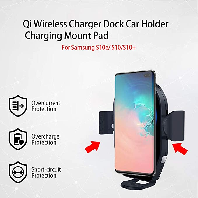online store 4ac0b 764dd Amazon.com: Dolloress Wireless Charger Car Mount Xs Max Stand with ...