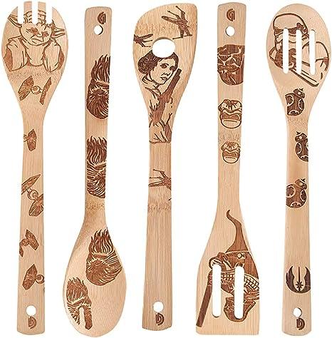 Wooden Spoons Utensil Set