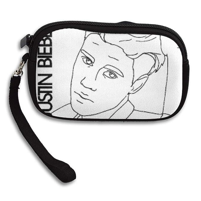 Dibujo De Justin Bieber Primer Plano Para Colorear Zipper Clutch