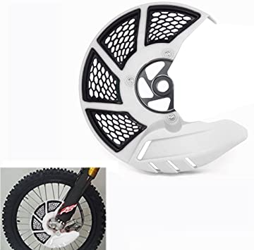 Blue Front Brake Disc Guard Protector Cover For HONDA CRF250L CRF250M 12-16