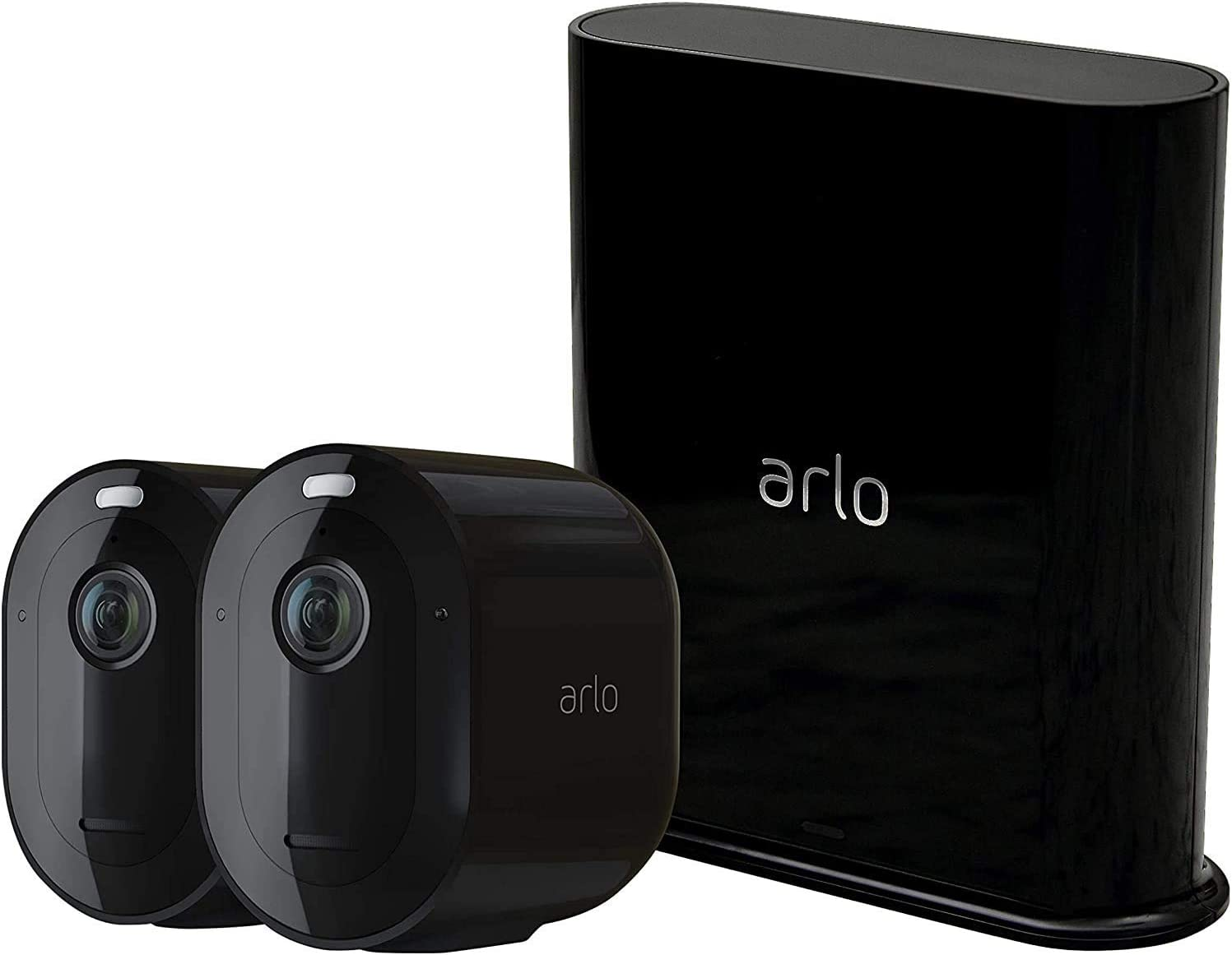 Arlo Pro 3 caméra de surveillance Wifi, Batterie rechargeable Alarme Grand angle...