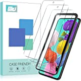 [3-Pack] WRJ Screen Protector for Samsung Galaxy A51,[Easy Installation Frame] HD Anti-Scratch Anti-Fingerprint No…