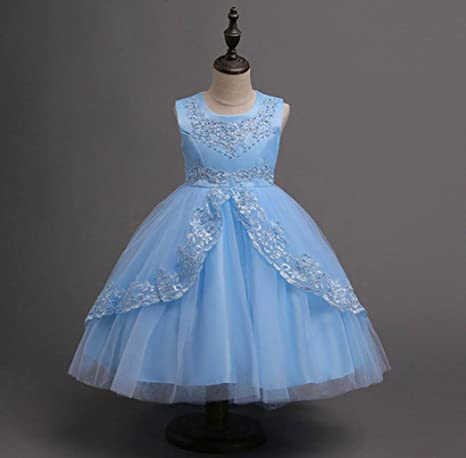 Amazon.com: Feitong Summer Kids Formal Dress for Girls Clothes Flower Pageant Birthday Party Princess Dress Girl Clothes: Baby