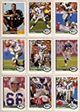Seattle Seahawks 1991 Upper Deck Football Master Team Set with High Numbers***Premier Issue*** (Dave Krieg) (Dan McGwire Rookie) (Chris Warren) (Derrick Fenner) (Cortez Kennedy) (Brian Blades) (Derrick Fenner) (John L. Williams) (Andy Heck) and More