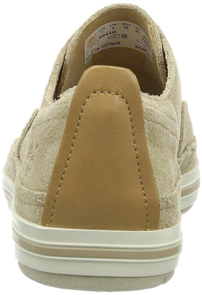 Timberland Casco Bay_Casco Bay Slip On with Ju, Damen Sneakers, Braun (Light Tan Suede), 38.5 EU
