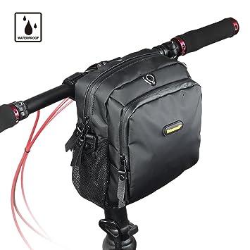Amazon.com: Rhinowalk - Bolsa para manillar de bicicleta ...
