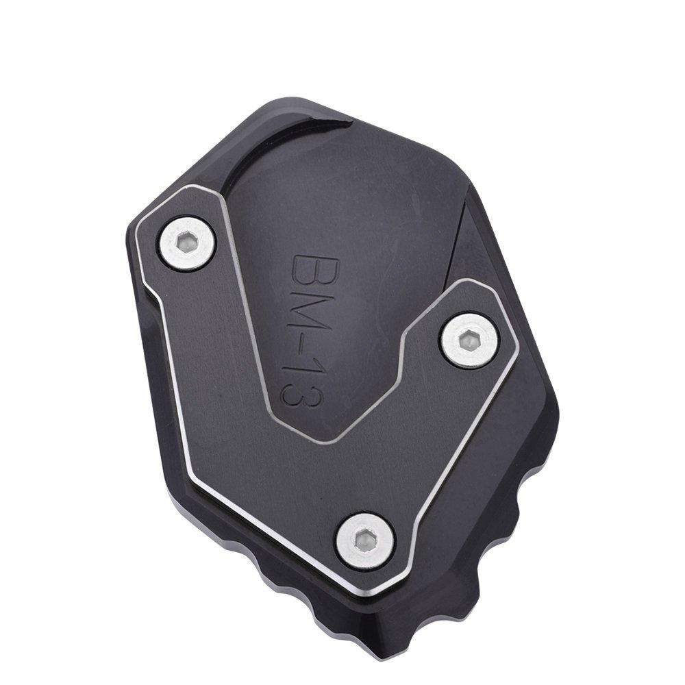 Nouveau Support de Moto CNC Agrandir Pied Repose Pied Kickstand Extension Plate Pad Pour BMWR 1250 GS 2018 R1200GS LC 2013-2018