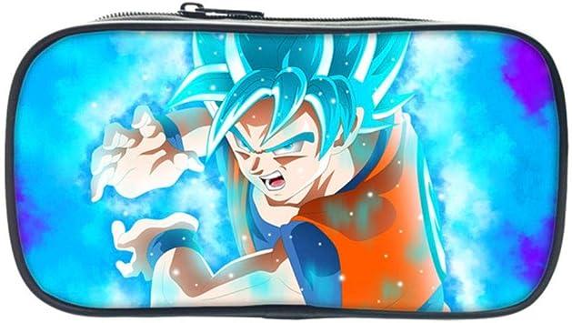 Twhoixi Dragon Ball Super Sun Goku Student Bag Niños Niños Niñas Estuche de lápices Cute Kids Lápiz Bolsa Regalo: Amazon.es: Equipaje