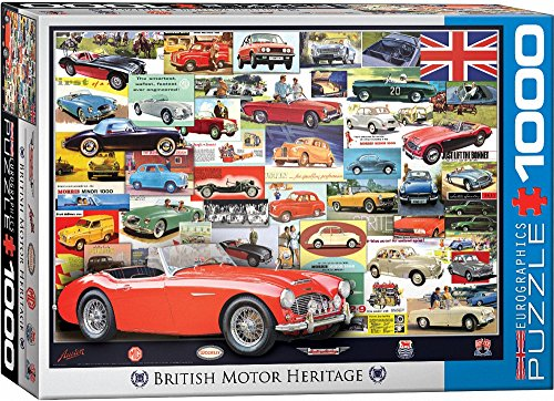 EuroGraphics British Motor Heritage (1000 Piece) Puzzle