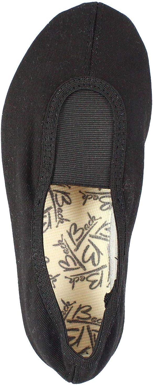 Schwarz//Weiss Beck Unisex Adults/' Gymnastics Shoes Black 5 UK