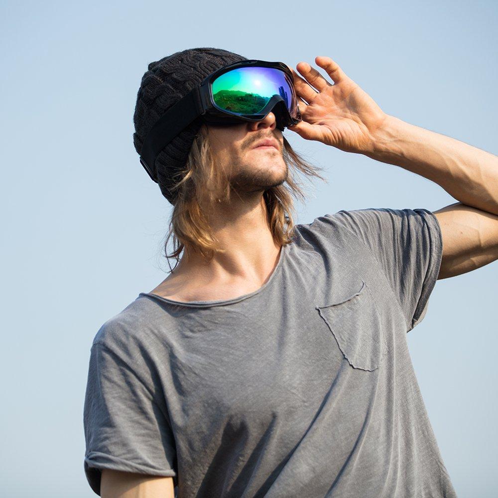 12a5a38184b OutdoorMaster OTG Ski Goggles - Over Glasses Ski Snowboard Goggles ...