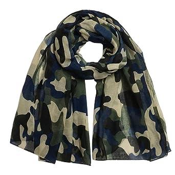Moonuy Foulard femme hiver Femme mode camouflage châle Wrap Châle pashmina  étole écharpe Foulards écharpe écharpes silencieux (A)  Amazon.fr   Vêtements et ... 3a20876e5db