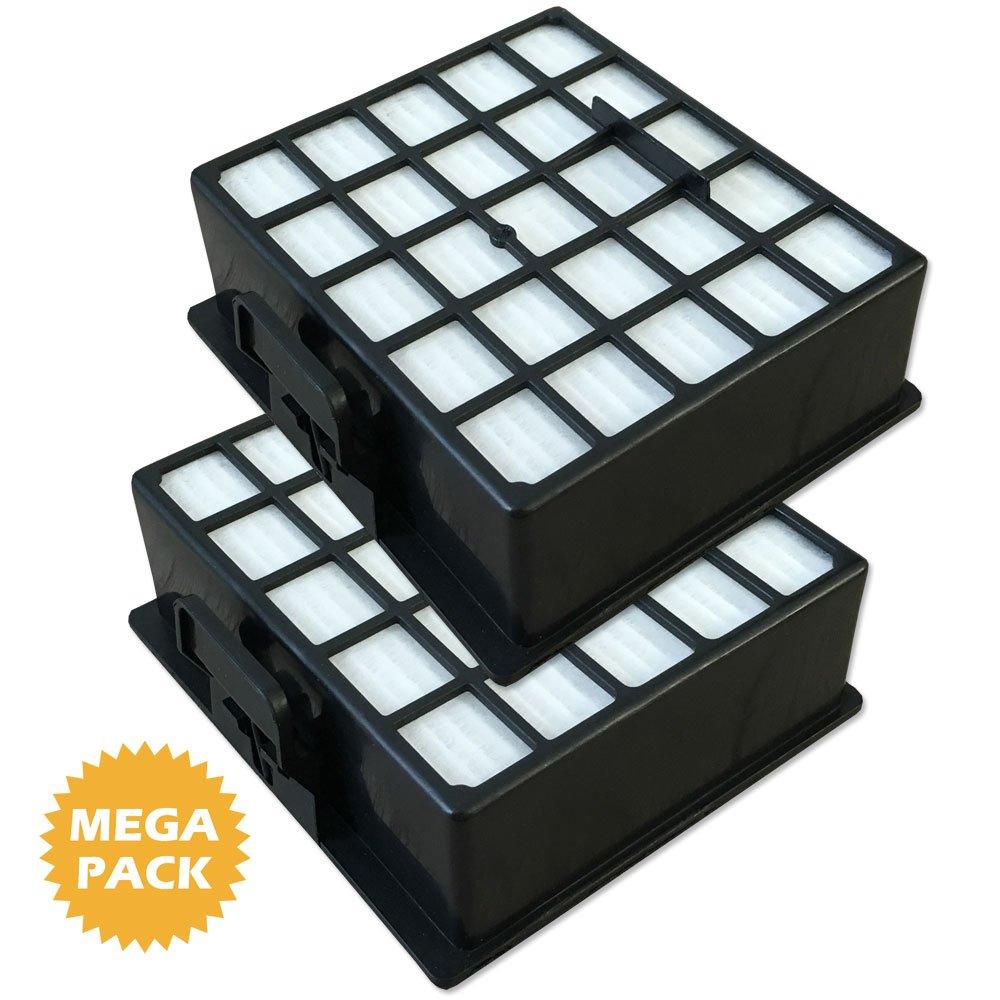1 HEPA 1 Motorfilter geeignet für Siemens VS06GP1266//03 green power Filter Set