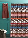 Urban Outfitters Curtains Barefoot Bungalow GL-1609BSHW Kandula Desert Bath/Shower Curtain