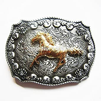 Men Belt Buckle Western Horse Belt Buckle Gurtelschnalle Boucle de ceinture