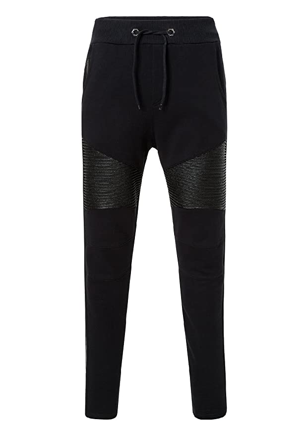 734202039e Philipp Plein Men's Tracksuit Bottoms Track Jacket Black Black - Black -  XX-Large: Amazon.co.uk: Clothing