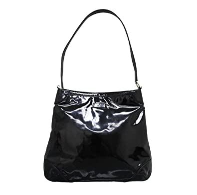 207b84e2a5f Amazon.com  Gucci Women s Black Patent Leather Hobo Capri Shoulder Bag  257296 1000  Shoes