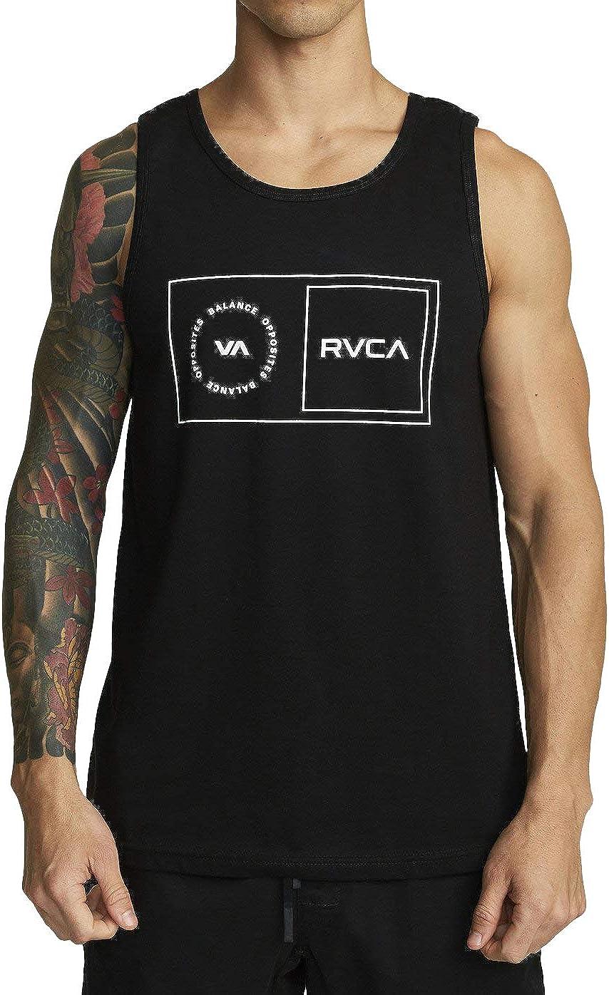 RVCA Men's Sport Balance Box Tank