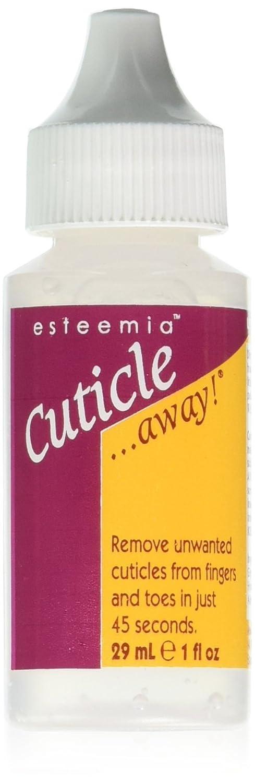Esteemia Cuticle Away Remover, 1 Fluid Ounce : Beauty