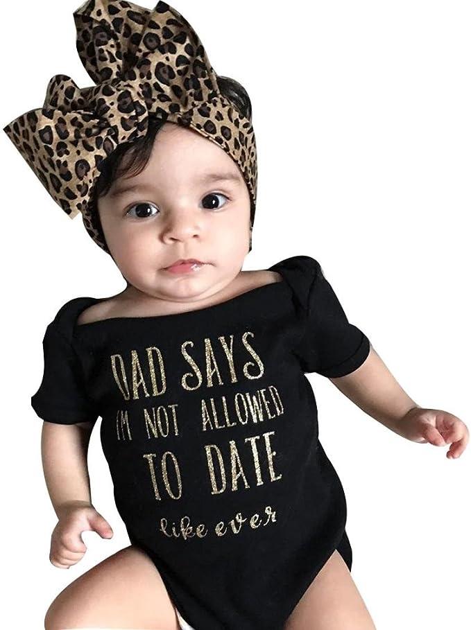 Headband Outfits Clothes Set Newborn Infant Baby Boy Romper Bodysuit Jumpsuit