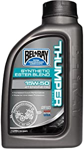 Bel-Ray Thumper Racing Synthetic Ester Blend 4T Engine Oil - 10W40 - 1L. 99520-B1LW