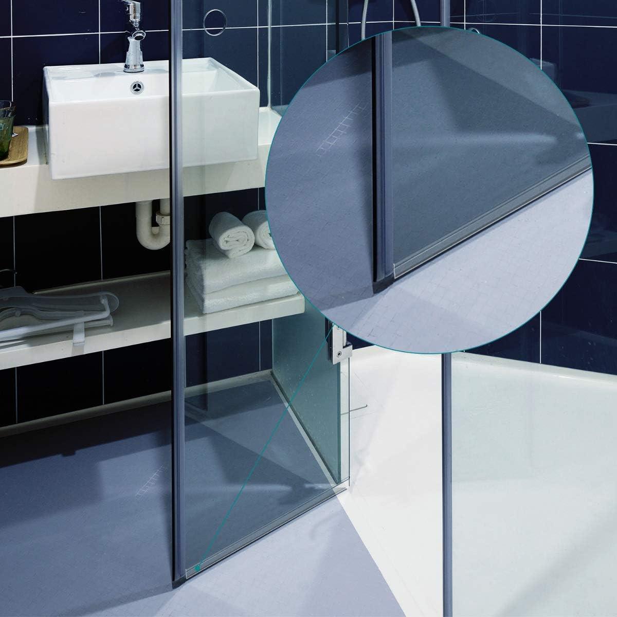 Navaris junta de recambio para ducha - Repuesto para puerta de ...