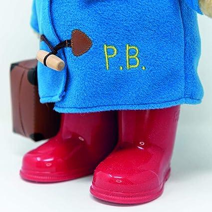 Classique Traditionnel debout ours Paddington avec bottes