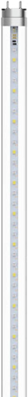 GE Lighting 93097589 18-Watt T8 LED Bulb Grow Light for Indoor Plants, 48-Inch/2-Foot, Balanced Full Spectrum, 1-Pack