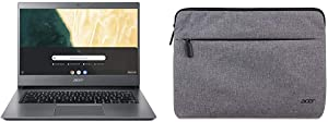"Acer Chromebook 714 CB714-1WT-3447, 8th Gen Intel Core i3-8130U with Acer 11"" Protective Sleeve"