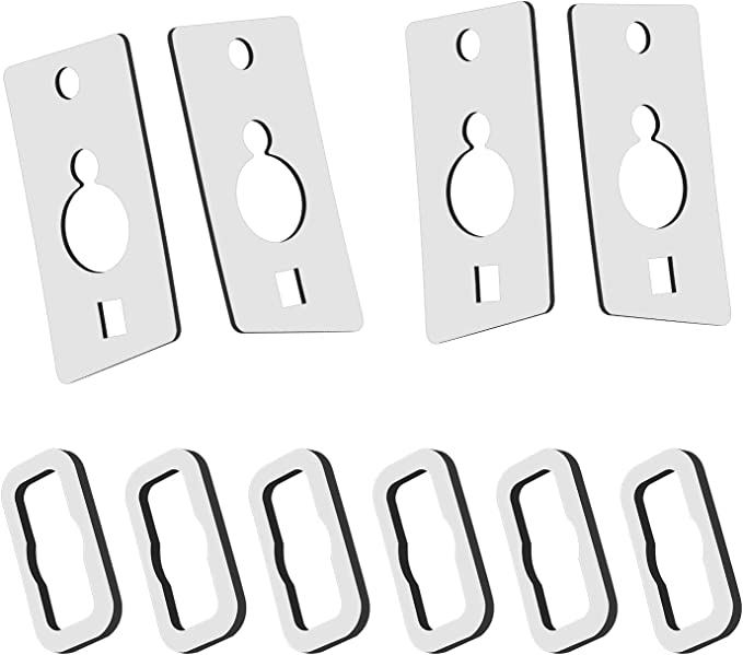 RUXIFEY Roof Cab Marker Light Gasket Running Lamp Seal Compatible with 2003 to 2009 Hummer H2