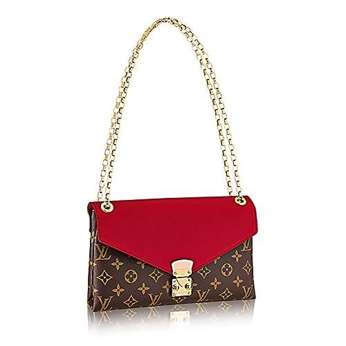 a71a959576e4 Louis Vuitton Pallas Chain Cherry Color Clutch Shoulder Bag Cross Body  Article  M41201  Amazon.ca  Shoes   Handbags