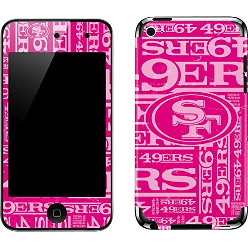 (San Francisco 49ers iPod Touch (4th Gen) Skin - San Francisco 49ers - Blast Pink | NFL & Skinit Skin)