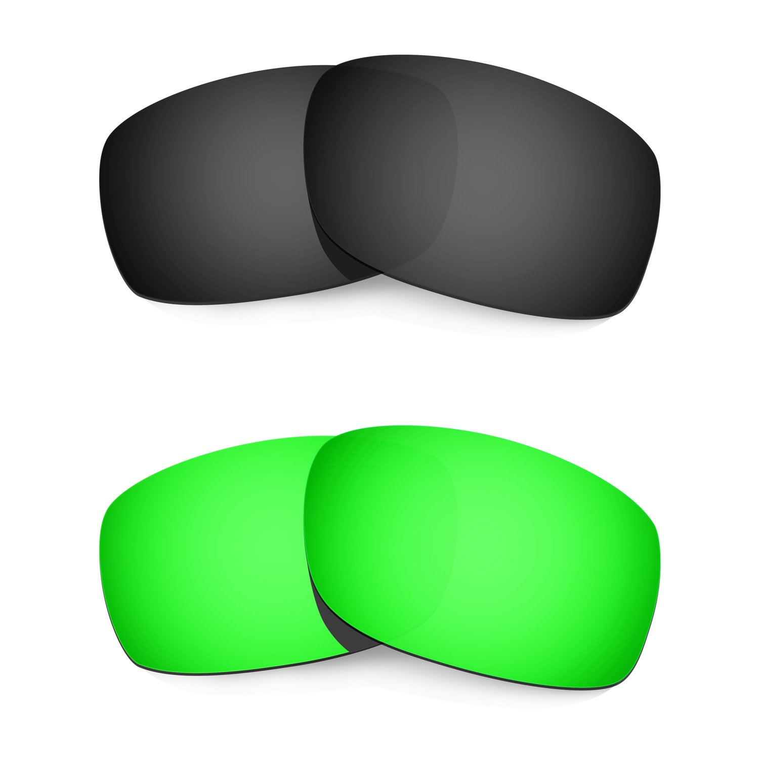 Hkuco Mens Replacement Lenses For Oakley Fives 3.0-2 pair