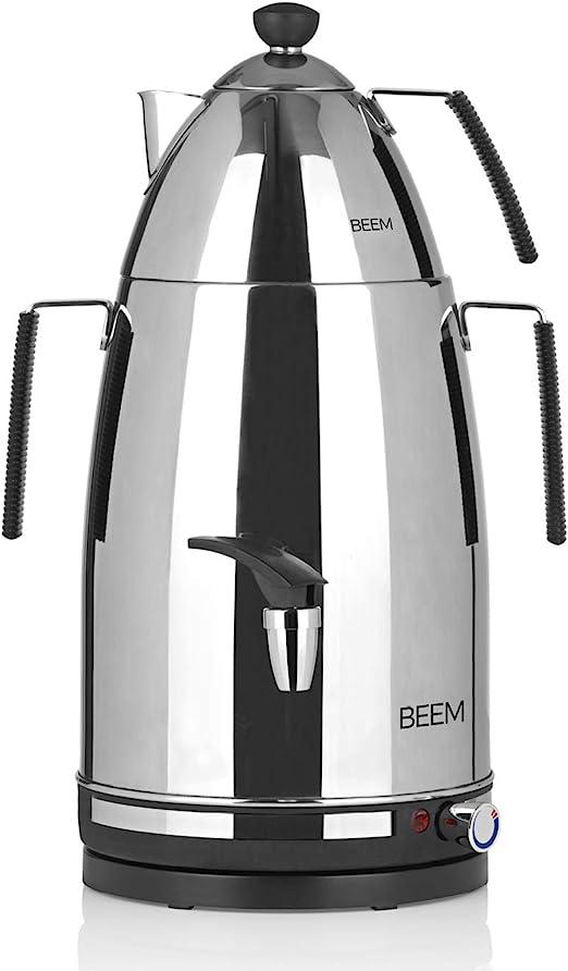 Tea Edelstahl 4 Liter BEEM Samowar Mr neu