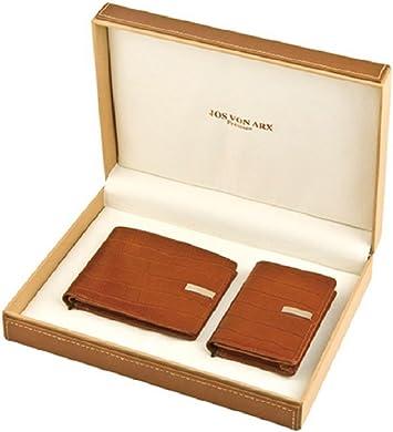 Jos Von Arx - Caja para tarjetas de visita Marrón marrón: Amazon ...