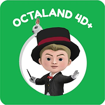 Octaland 4D Flash Cards: Toys & Games
