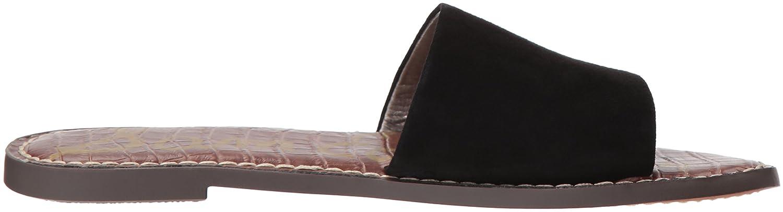 Sam Edelman Women's Gio Slide Sandal B07679T8JF 6.5 B(M) US|Black Suede
