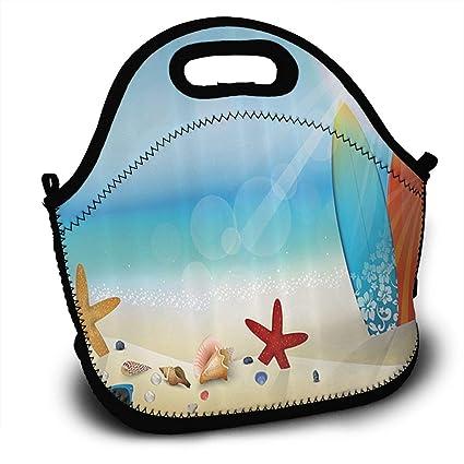 BD6bag Lentes de Sol en la Arena Playa Verano Tabla de Surf Estrella de mar Adulto