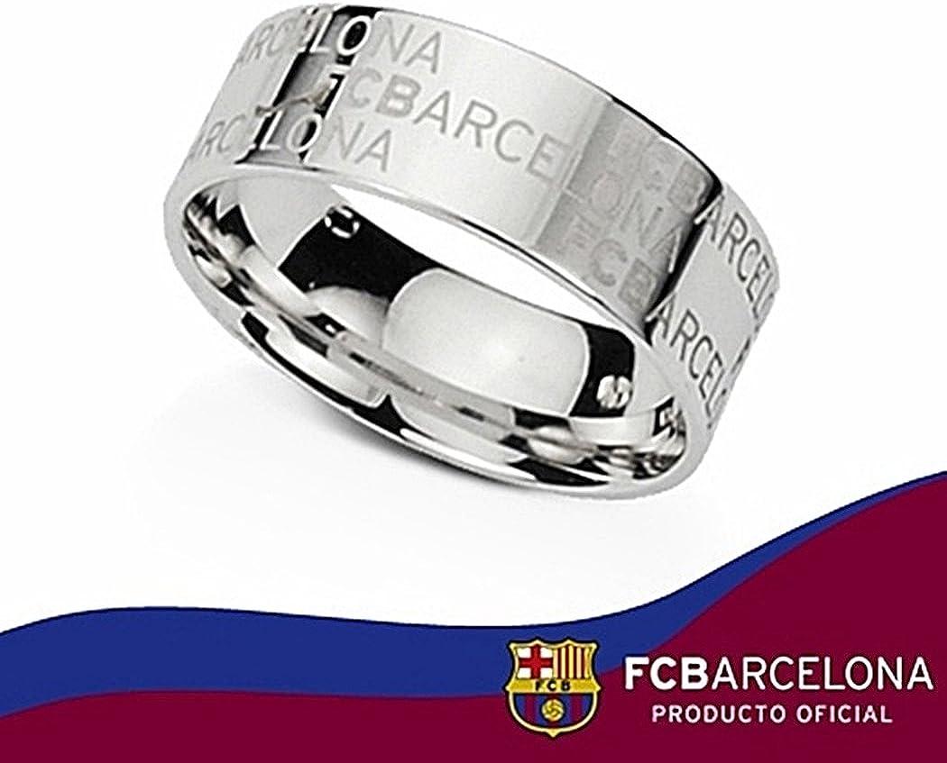 Alianza escudo F.C. Barcelona Plata de ley texto grabado [6904] - Modelo: 10-027: Amazon.es: Joyería
