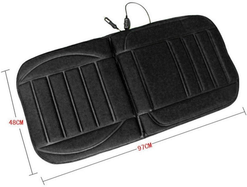 Black Seat Warmer Cover for Car Truck Dozenla Car Seat Cushion Heating Cushion 12V Cushion Mat Seat Cushions
