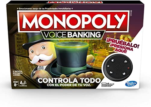 Oferta amazon: Monopoly - Voice Banking (Hasbro E4816SO0)