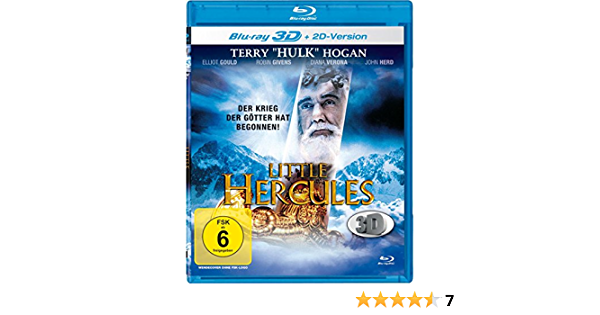 Amazon.com: Little Hercules ( Little Hercules 3D ) [ Blu-Ray, Reg ...