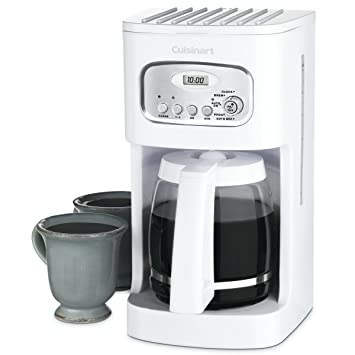 .com: cuisinart coffee maker - 12 cup - white: drip ...